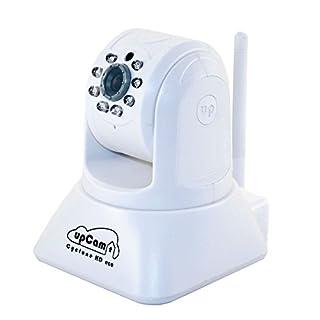 upCam Cyclone HD eco IP Kamera mit Nachtsicht (mit OmniVision HD Sensor 1280x720, WLAN, Audio, App, Cloud, Weitwinkel Objektiv 1 MP) Deutscher Hersteller und Support