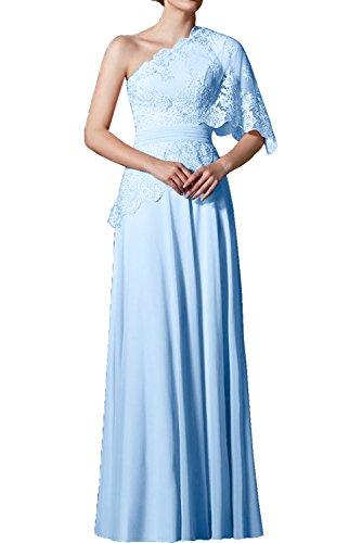 Victory Bridal - Robe - Trapèze - Femme bleu clair
