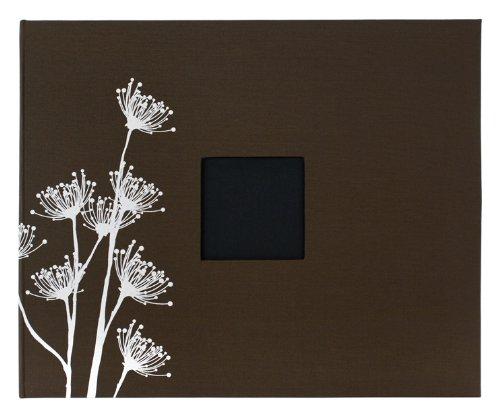 American Crafts 12x 12Zoll Gemustert 3Ring Album Mit gedruckte Blumen, Kastanien -