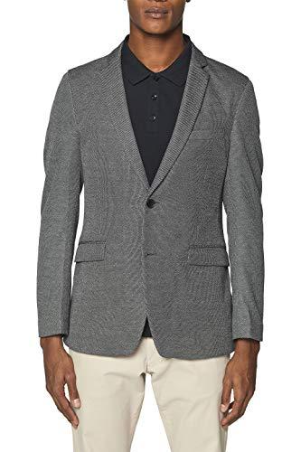 Esprit 029EE2G006 Americana, Gris Dark Grey 020, 58 Talla del Fabricante: 56 para Hombre