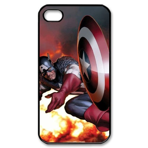 LP-LG Phone Case Of Captain America For Iphone 4/4s [Pattern-6] Pattern-2