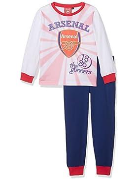 Arsenal FC Boys Arsenal Pj, Conjuntos de Pijama para Niños (Pack de 2)