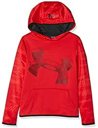 Under Armour Armour Fleece Hoody, Felpa Bambino