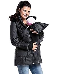 Zeta Ville - Chaqueta acolchada premamá abrigo panel extraíble - mujer - 449c