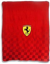 Manta Ferrari Cuadros 125x150cm