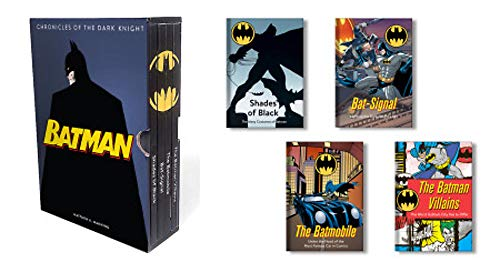 Batman: Chronicles of the Dark Knight: (4 hardcover, illustrated books)