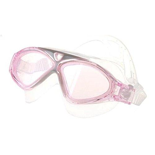 HOMYY Schwimmbrille, kein Auslaufen, Anti-Beschlag, UV-Schutz, Schwimmbrille mit verstellbarem Brillenband für Erwachsene, Männer, Frauen, Jugendliche, Kinder, Rose