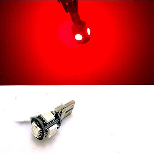 RFF-T10 LED 2-Mode Red 5W 11X3918SMD 550LM per auto luce freno (DC12-16V)-MEIXI&