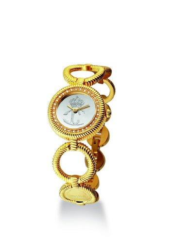 Just Cavalli Stud Just time R7253122517 - Reloj de mujer de cuarzo, correa de acero inoxidable color plata