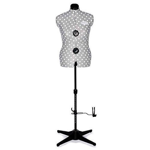 Adjustoform Kleid Form: 8Teil: Grau Spot: Medium (Nähen Kleid Form, Medium)
