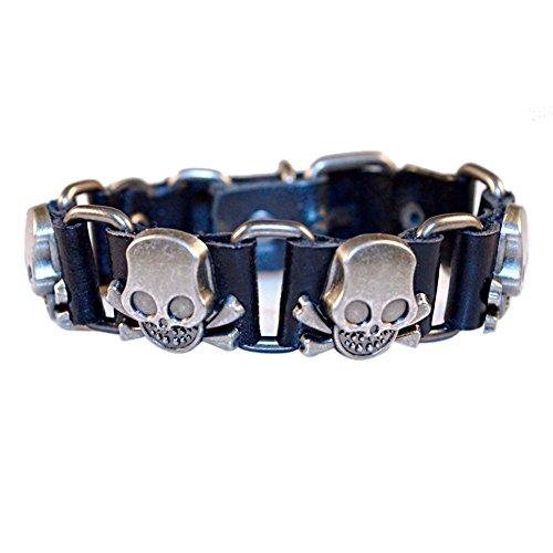 Broadroot New Fashion Multi-layer Women Bracelet w/ Rhinestone Beads Crystal Jewelry (Womens Multi-schnalle)