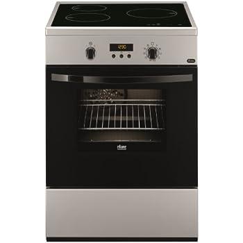 Faure FCI6560PSA Autonome Table de cuisson à induction A Argent four et cuisinière - fours et cuisinières (Cuisinière, Argent, boutons, Rotatif, Toucher, En haut devant, Table de cuisson à induction, Verre-céramique)