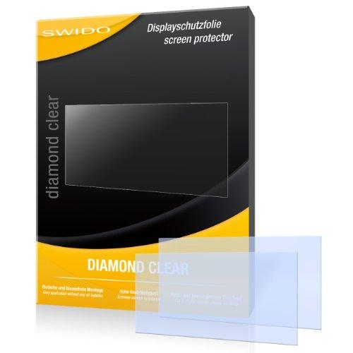 """2 x SWIDO® Displayschutzfolie Sony PSP Slim&Light Schutzfolie Folie """"DiamondClear"""" unsichtbar"""