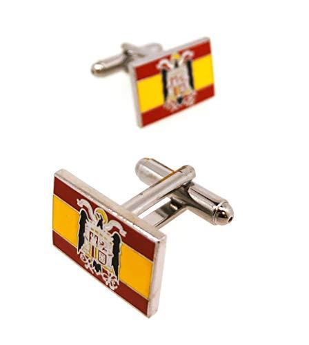 Gemelos Camisa Bandera España Aguila San Juan