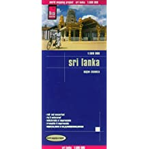 Reise Know-How Landkarte Sri Lanka (1:500.000): world mapping project