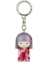 Porte clé Kokeshi Kimmidoll 5cm Mizuki - précieux
