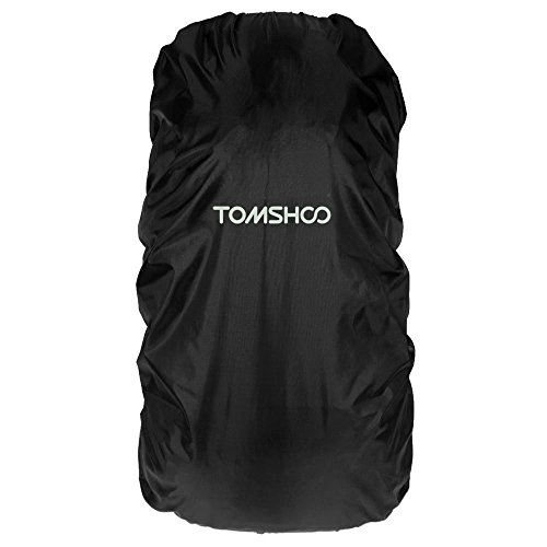 TOMSHOO Housse de Pluie de 40L-55L Sac à Dos/Housse de Sac/Couverture Imperméable/Pluie Couvre/Protection Contre Pluie/pour randonnée Trekking Camping Voyager/Accessoires Sacs