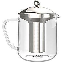 bonVIVO® Fridu Cafetera Cold Brew, Nueva Experiencia De Sabor Para Los Amantes Del Cafe, Tambien Es Adecuada Para Hacer Te