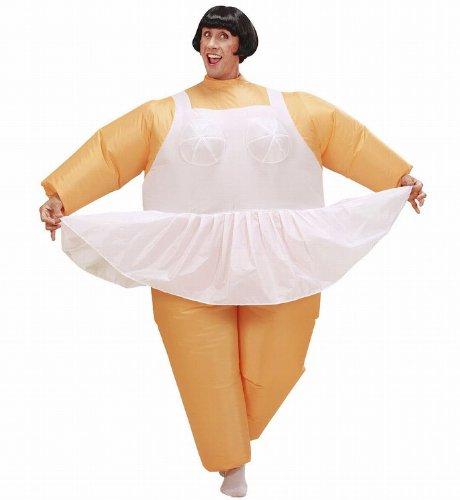Suit Einen Macht Fat Kostüm - Widmann - Aufblasbares Kostüm Ballerina
