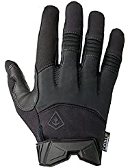 First Tactical Hombres Medium Duty Padded Guante Negro tamaño M