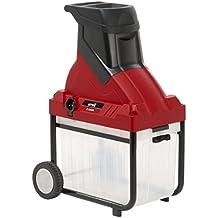 MTD S2500 Biotrituradora Eléctrica, 2500 W, 230 V, Rojo