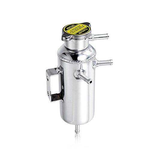 heinmo Universal Aluminium Auto Öl Catch Heizkörper Entlüfter Tank Kit Reservoir kann - Motor Chevy Teile