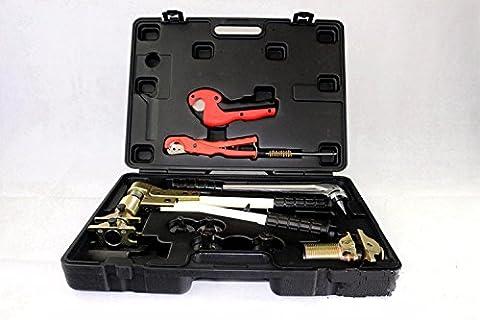 mabelstar PEX aufspannung Tools pex-1632Programm 16–32mm verwendet für Rehau System Gut Angenommen REHAU darüber Tool Kit