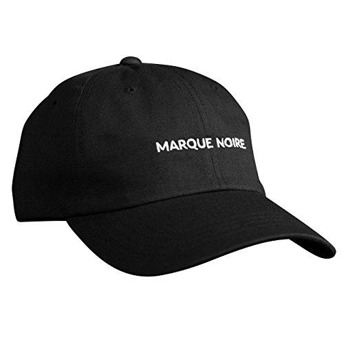 MARQUE NOIRE – MARQUE NOIRE Basecap (white) - Cap, Baseball Caps, Herren Damen Unisex (Brad Rüstung)