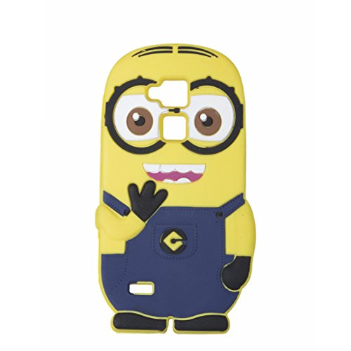Double Eye Cute Despicable Me Minion Silicone Back Cover For Huawei Ascend Mate 7  available at amazon for Rs.499