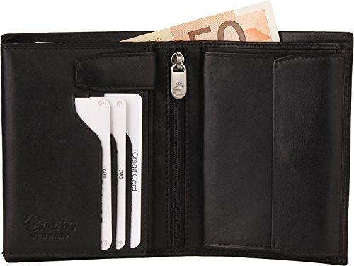 Esquire Silk altezza dimensioni borsa Nero (Black)