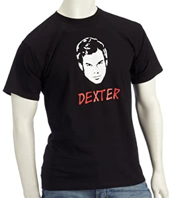 Coole Fun T-Shirts Dexter T-Shirt Homme Noir S