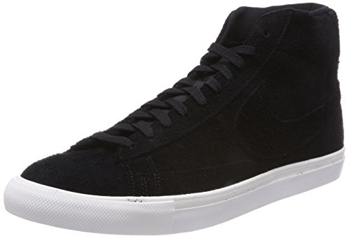 Nike Blazer Mid, Sneaker a Collo Alto Uomo Nero (Black/black-summit White)
