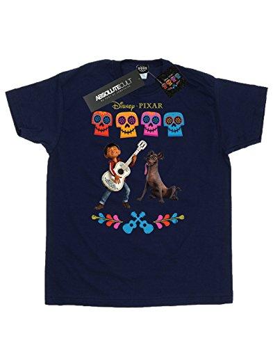 Disney Hombre Coco Miguel Logo Camiseta