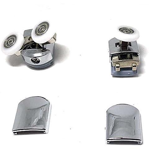 Juego de 8Enclosure rodillos de aleación de zinc puerta de ducha/Corredores/Ruedas
