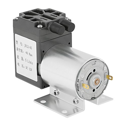 Wasserpumpe 12V - DC 12V 5L / min 120kpa Unterdruck-Mini-Vakuumpumpe mit Halter