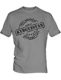 Made In Kyrgyzstan - Mens T-Shirt T Shirt Tee Top