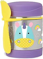 Skip Hop Zoo Insulated Unicorn Food Jar, Multicolour
