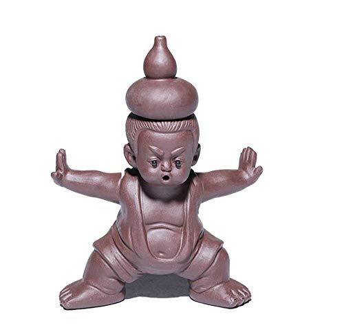 er Hand Kürbis wa Stück Skulptur Tee spielen Tee-Set 11 x 15 cm ()