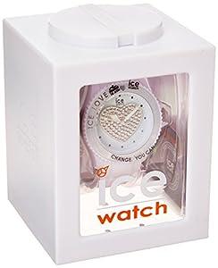 Ice-Watch-Reloj de pulsera unisex Ice de Love Color Blanco lo.We.U.S.10 de Ice Watch