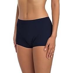 Merry Style Shorts Bañadores Deportivos Trajes de Baño Mujer Modelo L23L1 (Azul Oscuro (6219), 34)