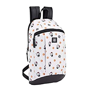 Hello Kitty 2018 Mochila Tipo Casual, 39 cm, 8.5 litros, Blanco
