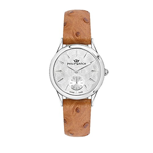 PHILIP WATCH Womens Analogue Quartz Watch with Leather Strap R8251596504
