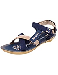 Claps Blue Casual Sandals &Floaters For Women's