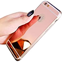 Galaxy J72017caso, Galaxy J72017Funda, Galaxy J72017espejo caso–Ukayfe espejo brillante reflexión lujo brillante suave TPU goma Bumper Case Espejo Maquillaje, flexible de silicona de goma anti-arañazos carcasa caso para Samsung Galaxy J72017sm-j730