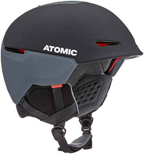 Atomic, Damen/Herren All Mountain Ski-Helm, Revent + LF, Live Fit, Größe L, Kopfumfang 59-63 cm, Schwarz, AN5005448L