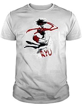 The Fan Tee Camiseta de Street Fighter gamer friki juego consola arcade super nintendo mujer