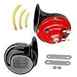 ShineTool Car Vehicle Auto Horn Dual-tone Snail Car Horn Universal Electric Air Horn