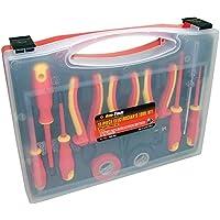 AM-tech S9Q1 - Lote de 11 herramientas aisladas para trabajos de electricidad, (