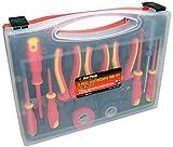 EN60900 S9Q1 AM-TECH Elektriker-Werkzeugset, 1000 VAC und 1500 VDC isoliert, 11-teilig
