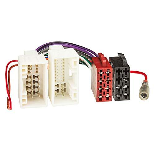 tomzz Audio 7019-003 Radio Adapter Kabel passend für Hyundai ab 2010, Kia ab 2009 auf 16pol ISO Norm